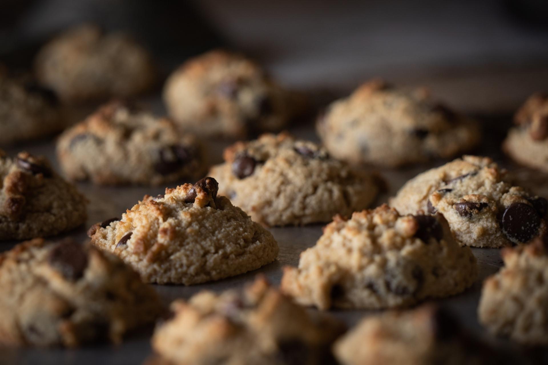 Chocolate chip cookies lockdown food trends