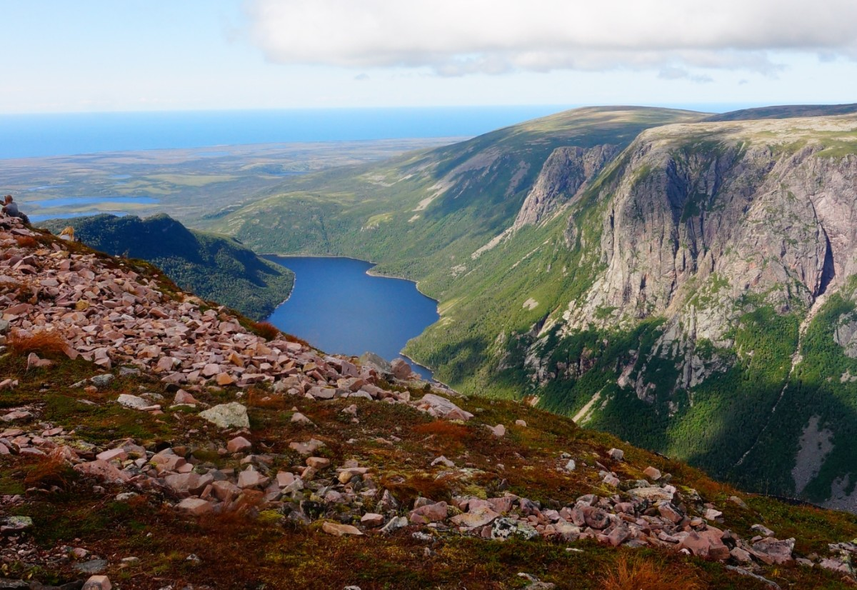 Tablelands at Gros Morne National Park