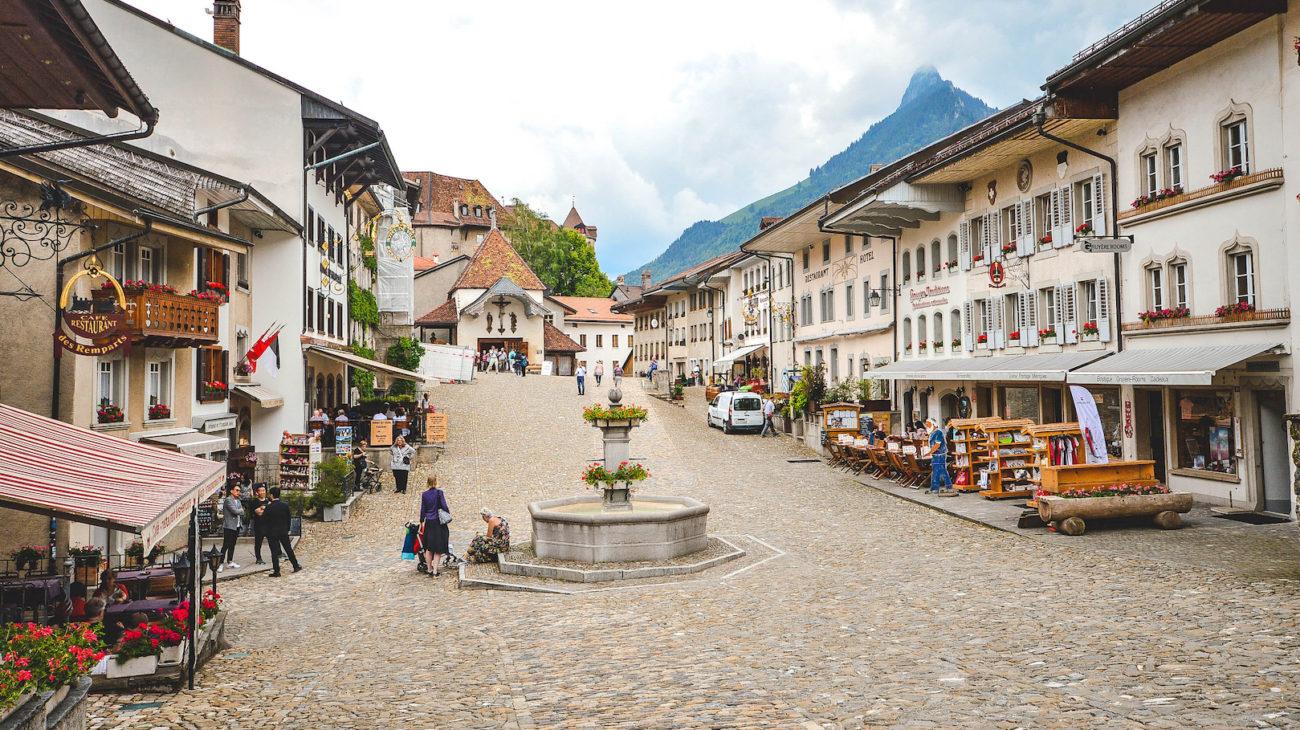 Switzerland hidden town