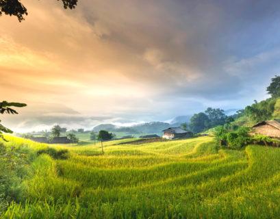 Mountain towns in Vietnam