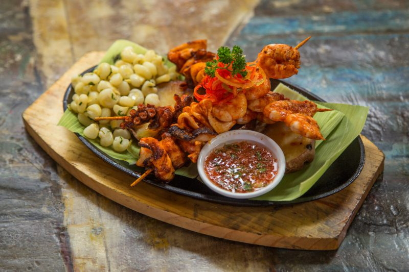 Peruvian food — Octopus